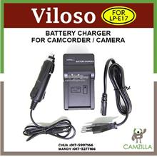 Viloso Camera Battery Charger for Canon LP-E17 for EOS-M3 750D 760D