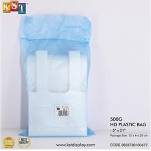 Disposable Transparent Plastic Bag For Packaging Food Drink Business