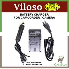 Viloso Camera battery and Car Charger BP-511A for Canon 20D 30D 40D 50
