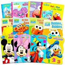 [From USA]Sesame Street + Mickey Mouse Baby Toddler Beginnings Board Books &a