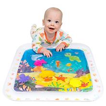[From USA]Lella Baby & Toddler Toys - Inflatable Tummy Time Water Play Ma
