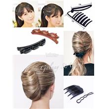 Assorted-DIY French Twist Pleat-Braid Styling Hair Tool-U Shape Pin