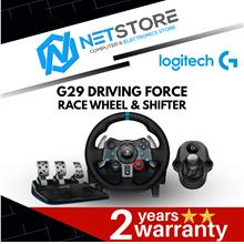 LOGITECH BUNDLE G29 Driving Force Race Wheel + G Driving Force Shifter
