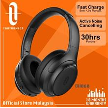 TaoTronics BH060 ANC Headphones DeepBass QuickCharge OverEar Headphone