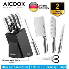 ​​AICOOK KFH001 German High Carbon S.Steel X50Cr15 Premium..)