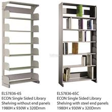 Malaysia ECON type Single Sided Library Shelves / Book Rack