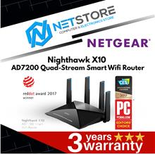 NETGEAR NightHawk X10 AD7200 Quad-Stream Smart WiFi Router ( R9000 )