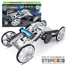 [From USA]Mochoog STEM 4WD Electric Mechanical Assembly Gift Toys Kit | Intro