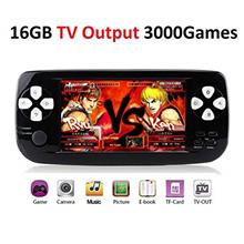 [From USA]MJKJ Handheld Game Console Portable Video Game Console 4.3 Inch 3000