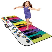 [From USA]Kidzlane Floor Piano Mat: Jumbo 6 Foot Musical Keyboard Playmat for