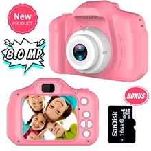 [From USA]Yehtta Gifts for 3-8 Year Old Girls Kids Camera 8.0 MP Digital Camer