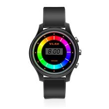 [From USA]Rainbow Coloured Lights Kids Watch - 7 Colors Flashing 50M Waterproo