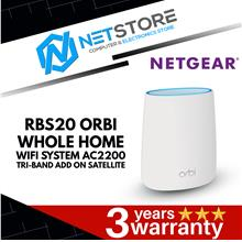 NETGEAR RBS20 Orbi Whole Home WiFi System AC2200 Add-on Satellite