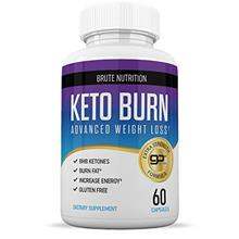 Brute Nutrition - Keto Weight Loss Supplement - Boosts Energy and Metabolism -