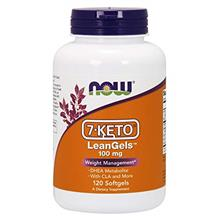 NOW Supplements 7-Keto LeanGels 100 mg with CLA Green Tea Extract Acetyl-L-Car