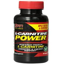 SAN L-Carnitine Power Capsules 60 Count