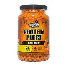 Twin Peaks Low Carb Allergy Friendly Protein Puffs Nacho Cheese (300g 21g Prot