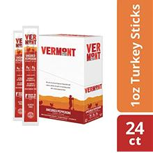 Vermont Smoke  & Cure Jerky Sticks - Antibiotic Free Turkey - Gluten Free