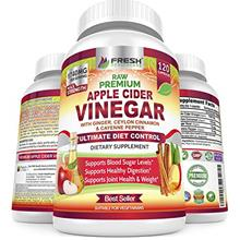 Organic Apple Cider Vinegar Pills Max 1740mg with Mother - 100% Natural  &