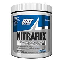GAT - NITRAFLEX - Testosterone Boosting Powder Increases Blood Flow Boosts Str