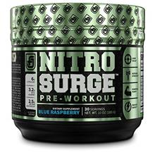 NITROSURGE Pre Workout Supplement - Endless Energy Instant Strength Gains Clea