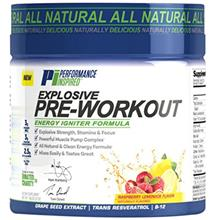 Performance Inspired Nutrition Explosive Pre-Workout Raspberry Lemonade 1.49 P