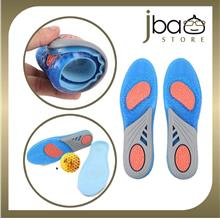 Gel Active PU Sport Insoles Shock Absorption Running Insert Insole Shoe Pad