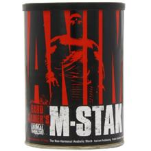 Animal M-Stak - Non-Hormonal Hard Gainers Muscle Building Stack with Energy Co