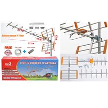 HDTV Analog Digital TV Outdoor Aerial UHF 0-75km mytv myfreeview: Best  Price in Malaysia