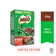 NESTLE Milo Cereal 300g Free Cereal Bar