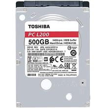 TOSHIBA L200 500GB/1TB 2.5' 5400RPM 8MB SATA NOTEBOOK HDD