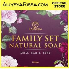 Family Set Natural Soap by Tasneem Naturel
