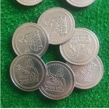 Stainless Steel Token coins arcade game Size 25*1.85mm Entertainment