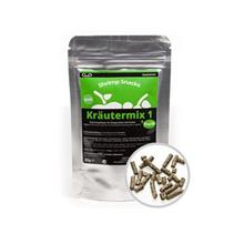 GlasGarten Krautermix 1 + Frucht Shrimp Food Aquarium