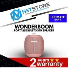 Ultimate Ears UE WONDERBOOM Portable Bluetooth Speaker CASHMERE PINK