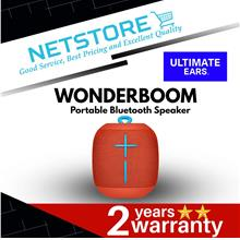 Ultimate Ears UE WONDERBOOM Portable Bluetooth Speaker - FIREBALL RED