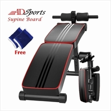 Senaman Folding Portable Multi-function Abdominal Supine Board Fitness Machine