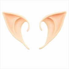 Soft Elf Ears Cosplay Accessories Halloween Party Pointed Prosthetic Tips (DEE