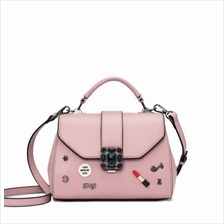 PU Leather Shoulder Messenger Bag Handbag
