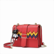 Ladies PU Leather Casual Shoulder Messenger Bags