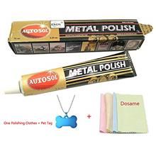 [From USA]Autosol Metal Polish 3.33 Oz.(75ml) Copper Brass Alumium and More wi