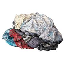 [From USA]Buffalo Industries (10180) Multicolored Recycled Flannel Cloth Rags
