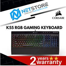Corsair K55 RGB Gaming Keyboard - Qu (end 9/9/2020 12:15 PM)
