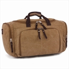 Vintage Large Capacity Canvas Travel Bag Gym Duffel Bag