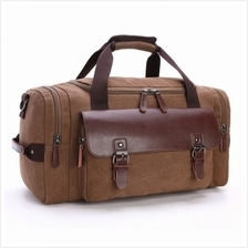 Unisex Canvas Travel Gym Bag with big Capacity