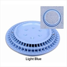 "Color Match 8"" VGB Main Drain Frame & Grate Cover [blue]"