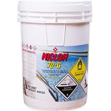 Swimming Pool Chemical 70% Chlorine Granular - 45kg (Japan)