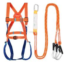 Safety Harness with Shock Absorber Lanyard