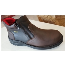WinS Safety Shoe- Mid Cut with Double Zip