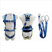 Full Body Safety Harness with shock Absorber Lanyard